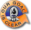 Our goal is clear logo